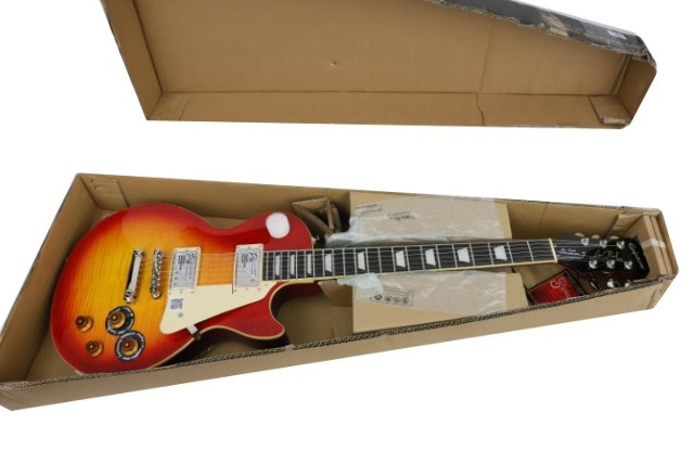 EPIPHOME LES PAUL STANDARD PLUS-TOP ENLPHSNH1 ELECTRIC GUITAR WITH COIL-TAPPING HERITAGE CHERRY SUNBURST