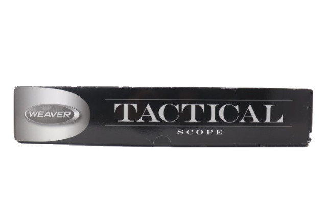 WEVER 800384 TACTICAL 1-7X24MM 34MM TUBE DUAL FOCAL RIFLE SCOPE