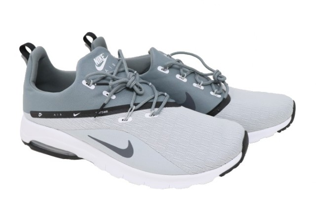 3c67ad9ac7 NIKE AIR MAX MOTION RACER 2 AA2178 003 MENS WOLF GREY RUNNING SHOES SZ 13