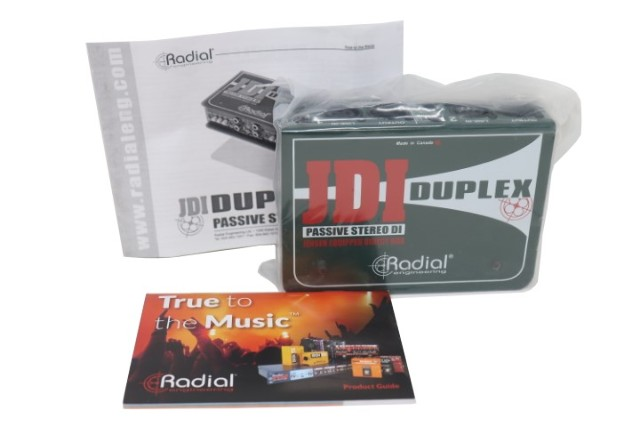 RADIAL ENGINEERING JDI DUPLEX R800 1020 TWO CHANNEL PROPASSIVE DIRECT BOX