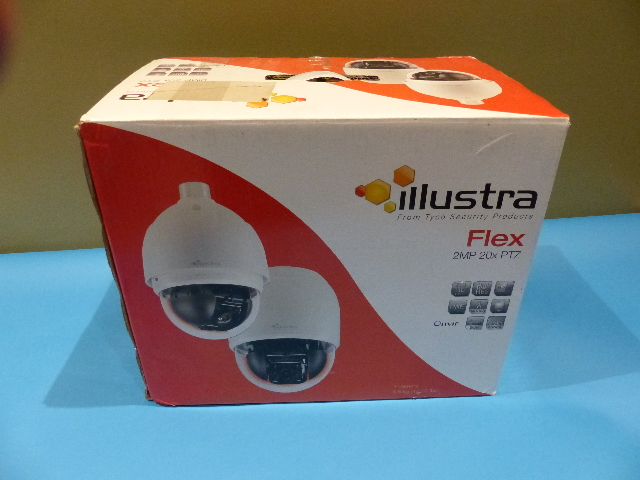 AMERICAN DYNAMICS IFS02P5ICWTY ILLUSTRA FLEX 2MP INDOOR SECURITY CAMERA