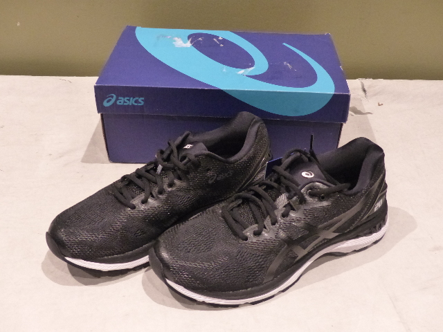 new concept 2542a e0355 Details about ASICS GEL-NIMBUS 20 T800N-9001 MENS BLACK/WHITE/CARBON  RUNNING SHOES SIZE 8