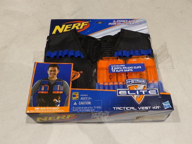 NERF A0250 ADIB06XKTBST6 N-STRIKE ELITE TACTICAL VEST KITS