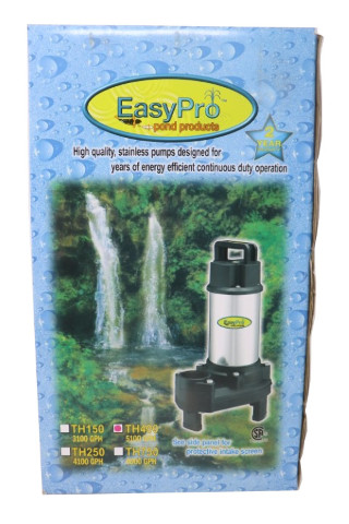 EASYPRO TH4000 5100GPH STAINLESS STEEL PUMP