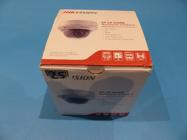 HIKVISION DS-2CD2712F-IS 1.3MP OUTDOOR IR NETWORK VANDAL DOME CAMERA