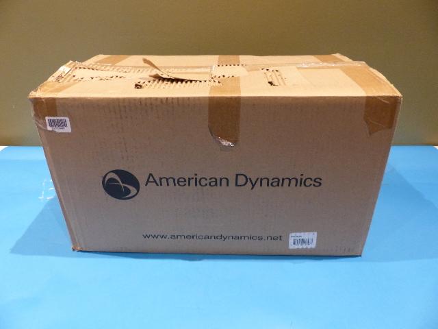 AMERICAN DYNAMICS NTSC 112 SPEEDDOME OPTIMA DOME CAMERA RASONPC 0100-2333-01