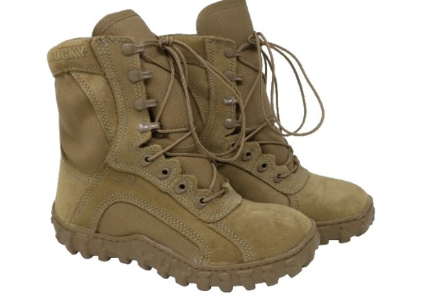 ROCKY S2V RKC055 TACTICAL BOOTS COYOTE BROWN SIZE 5M
