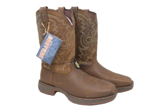 d0c83a0e48f Details about DURANGO REBEL DB4343 MENS 12IN STEEL TOE WORK BOOTS SZ 11D