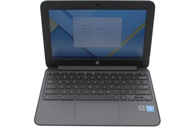 HP CHROMEBOOK 1FX82UT ABA 1.6GHZ 4GB 16GB INTEL GRAPHICS CHROME OS LAPTOP