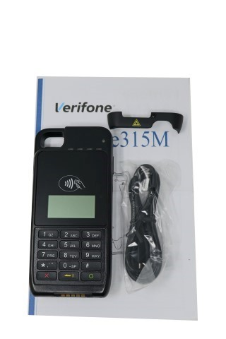 VERIFONE PAYWARE E315M IPHONE 5 IPOD MOBILE BARCODE CC TERMINAL M087-313-10-WWA