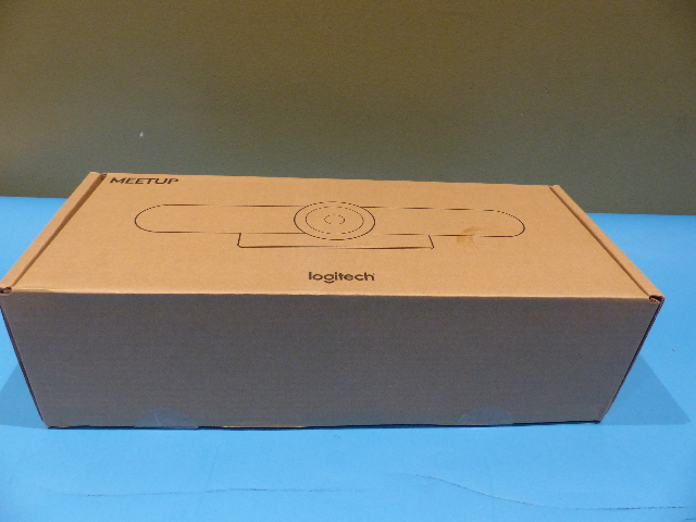 LOGITECH 960-001101 MEETUP ALL-IN-ONE 4K CONFERENCECAM WITH 120 DEGREE FOV LENS