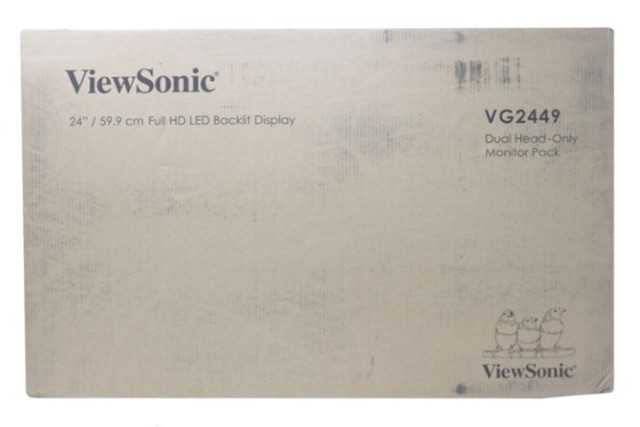 2 PACK VIEWSONIC VG2449 H2 24IN. 16:9 SUPERCLEAR LCD MONITORS