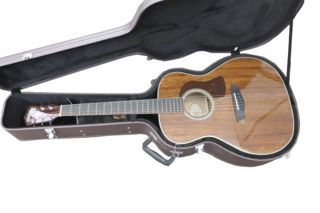 WASHBURN HG120SWEK-D GRAND AUDITORIUM ACOUSTIC ELECTRIC GUITAR WITH CASE