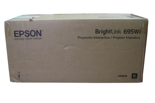 EPSON BRIGHTLINK 695WI V11H740522 3500-LUMEN WXGAA ULTRA-SHORT THROW 3LCD INTERACTIVE PROJECTOR
