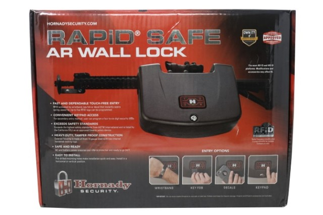 HORNADY RAPID SAFE 98185 WALL LOCK