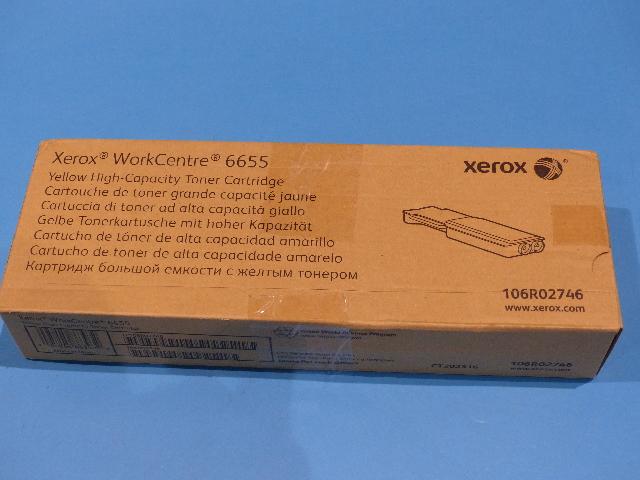 XEROX WORKCENTRE 6655 106R02746 YELLOW HIGH-CAPACITY TONER CARTRIDGE