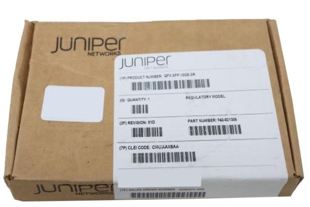 JUNIPER QFX-SFP-10GE-SR 10GB ETHERNET OPTICS TRANCEIVER