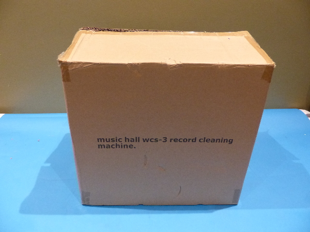 MUSIC HALL WCS-3 RECORD CLEANING MACHINE 115 VOLTS