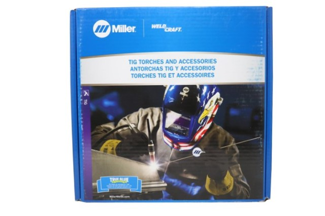 MILLER WELDCRAFT CS310-12 TORCH PACKAGE - 12.5FT BRAIDED