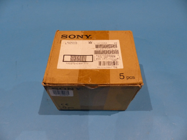 QTY 5 SONY LTX2500G 2.5TB LTO ULTRIUM 6 DATA CARTRIDGES