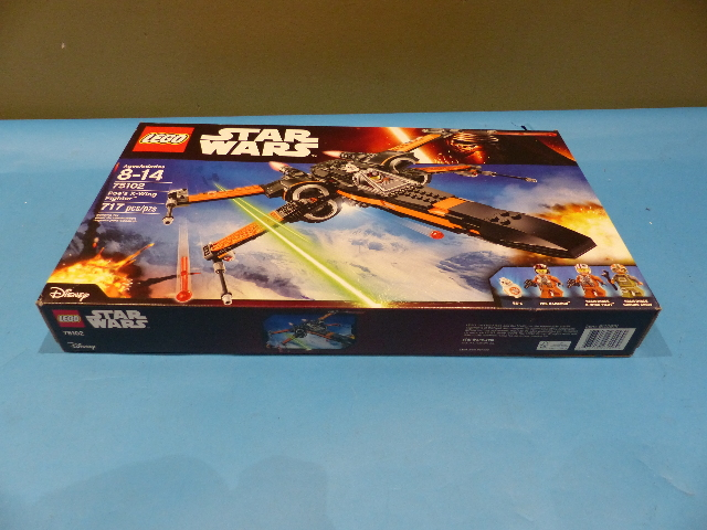 LEGO STAR WARS 75102 717 PIECE POES X-WING FIGHTER SETS