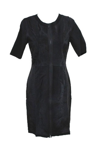 ELIE TAHARI E831R604 CORALIE DRESS BLACK S 8