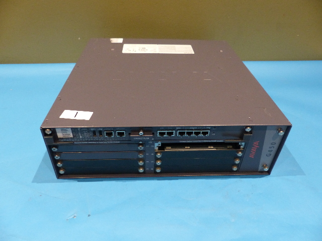 AVAYA G450 MB450 700507164 2* PS4504 POWER MEDIA GATEWAY