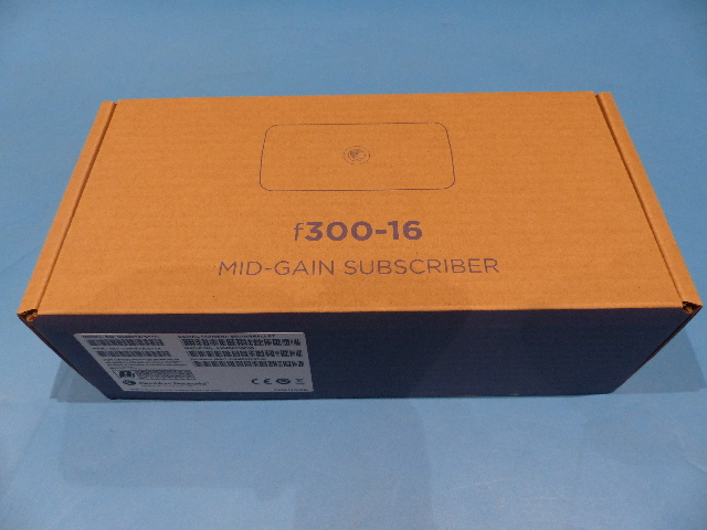 CAMBIUM NETWORKS EPMP FORCE 300-16, 5GHZ MID GAIN RADIO WITH 16DBI INTEGRATED ANTENNA, ROW. NO POWER CORD