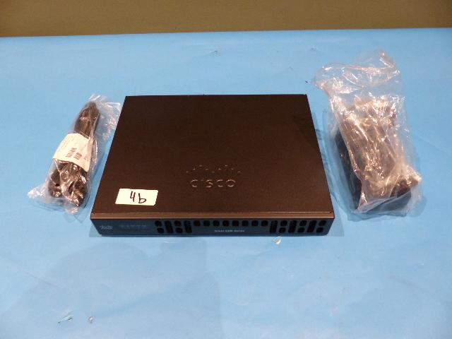 CISCO ISR4221/K9 4221 V02 INTEGRATED SERVICES ROUTER W/ 1MFT-T1/E1