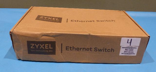 ZYXEL GS1300-10HP-US010F 8 PORT NETWORK SWITCH