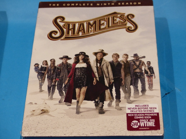 SHAMELESS THE COMPLETE NINTH SEASON DVD WITH JACKET NEW