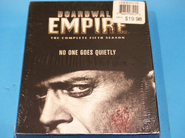 BOARKWALK EMPIRE THE COMPLETE FIFTH SEASON (SEASON 5) DVD NEW