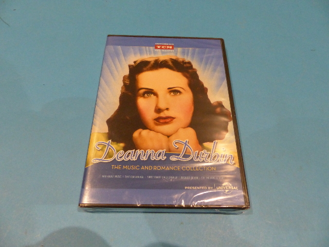DEANNA DURBIN THE MUSIC AND ROMANCE COLLECTION - DVD NEW SEALED