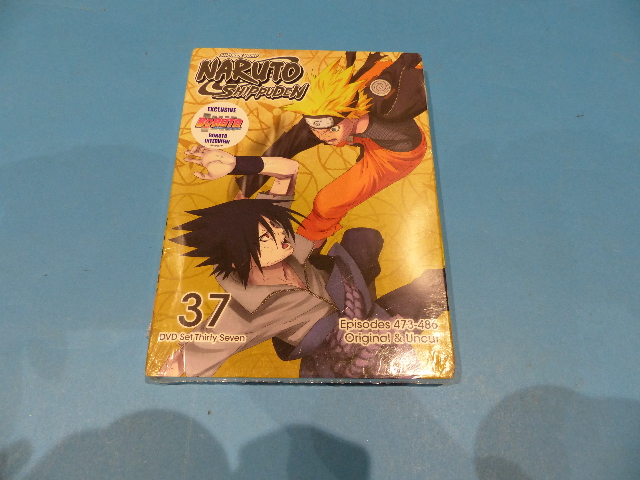 NARUTO SHIPPUDEN DVD SET 37 - DVD NEW SEALED