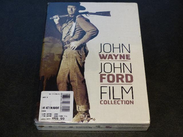 JOHN WAYNE JOHN FORD FILM COLLECTION DVD NEW SEALED