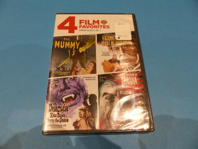 4 FILM FAVORITES HORROR CLASSICS VOLUME 1 - DVD NEW SEALED
