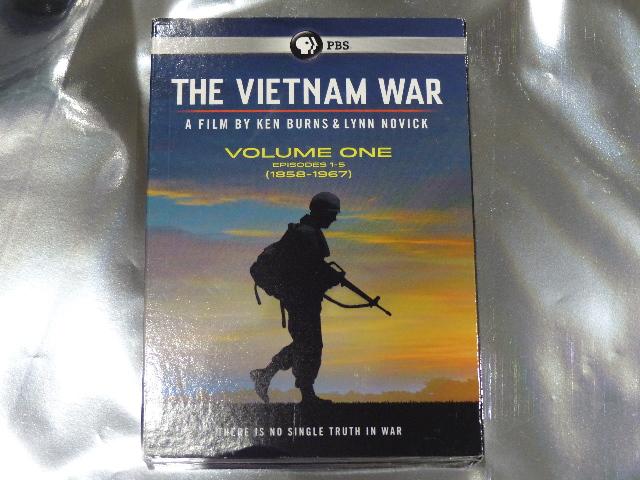 THE VIETNAM WAR DVD VOLUME ONE (VOLUME 1) NEW PBS