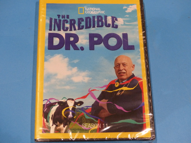 THE INCREDIBLE DR POL SEASON 11 DVD NEW