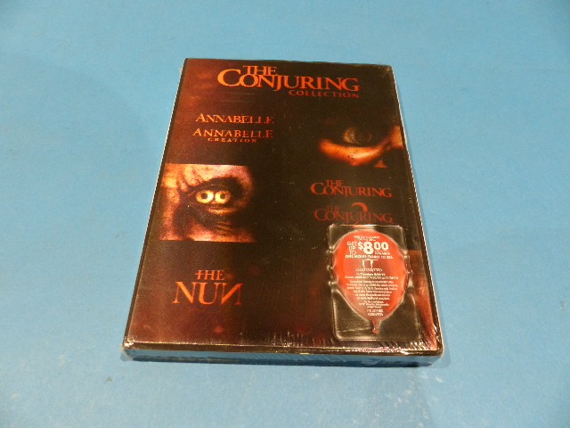 5 FILM COLLECTION THE CONJURING UNIVERSE COLLECTION DVD NEW SEALED