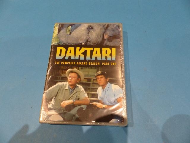 DAKTARI THE COMPLETE SECOND SEASON (SEASON 2) 7 DISC SET DVD NEW