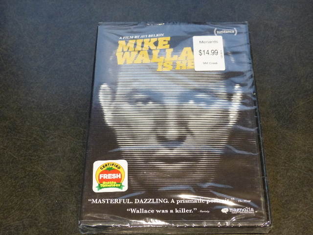 MIKE WALLACE IS HERE DVD NEW SEALED