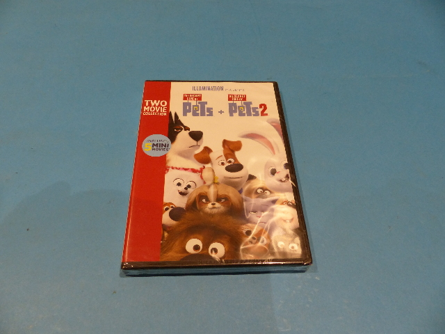THE SECRET LIFE OF PETS 2-MOVIE COLLECTION DVD NEW SEALED