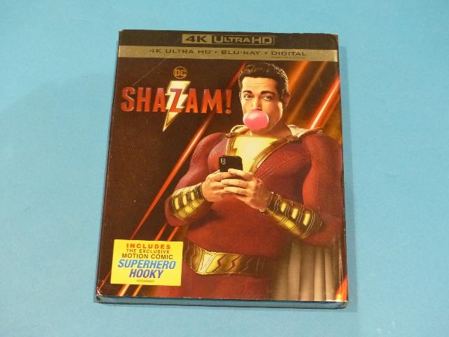 SHAZAM! - 4K ULTRA HD + BLU-RAY  NEW