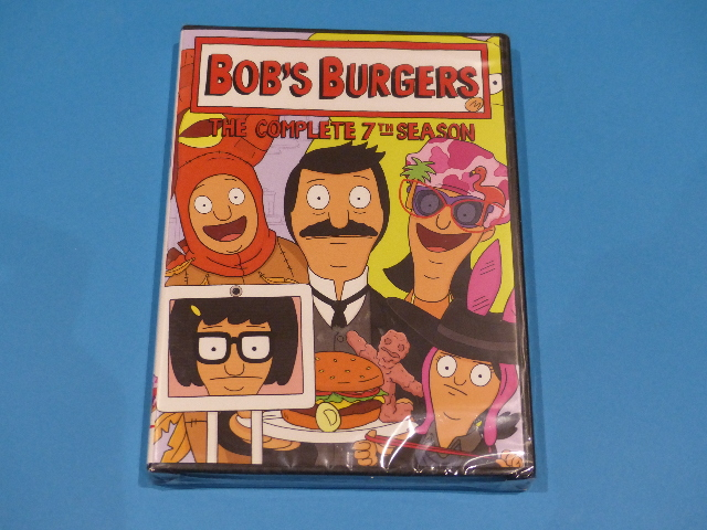 BOB'S BURGERS: THE COMPLETE 7TH SEASON DVD  NEW