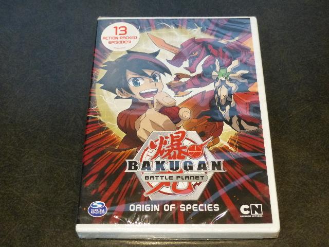 BAKUGAN BATTLE PLANET ORIGIN OF SPECIES DVD NEW SEALED