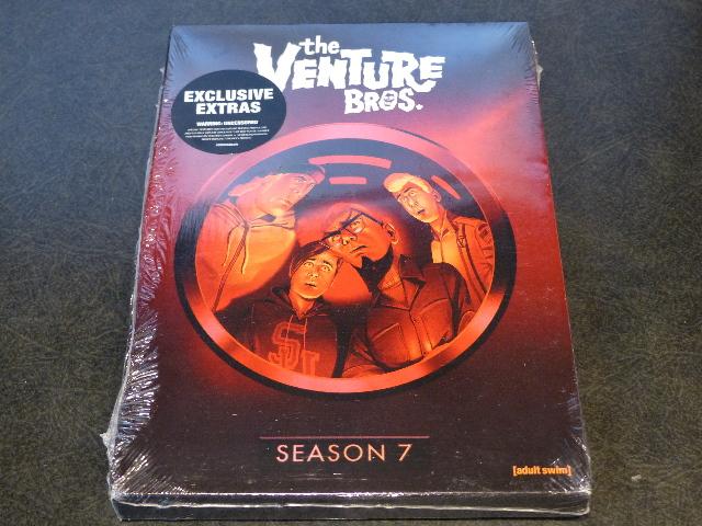 VENTURE BROS THE COMPLETE SEVENTH SEASON DVD NEW SEALED