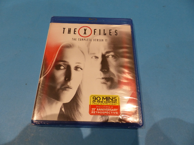 THE X-FILES THE COMPLETE SEASON 11 BLU-RAY NEW