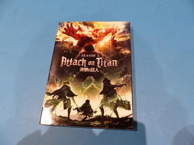 ATTACK ON TITAN SEASON TWO (SEASON 2) 2-DVD SET DVD NEW