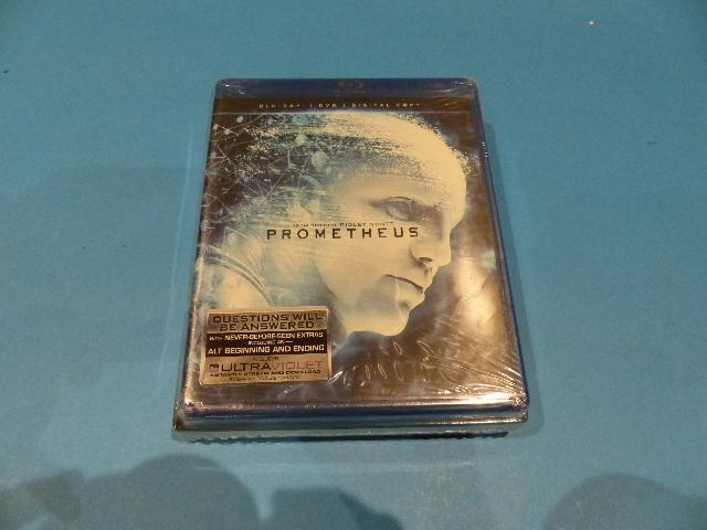 ALIEN ANTHOLOGY AND PROMETHEUS BUNDLE - BLU-RAY + DVD + DIGITIAL CODE NEW