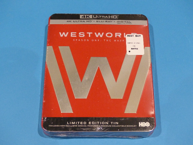 WEST WORLD: THE COMPLETE FIRST SEASON 4K ULTRA HD + BLU-RAY + DIGITAL STEELBOX